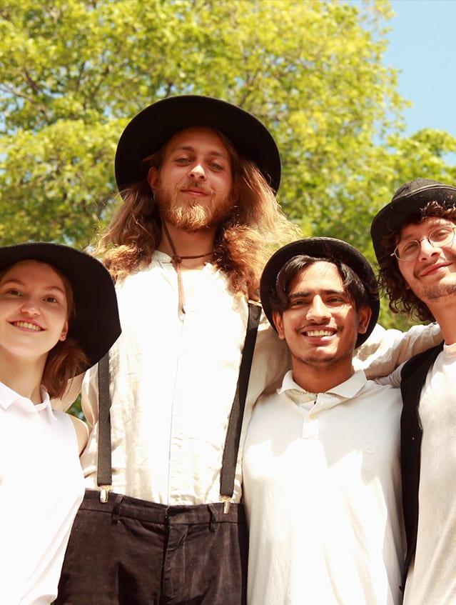 Photo Quatuor Klezmer du Conservatoire de musique de Rimouski