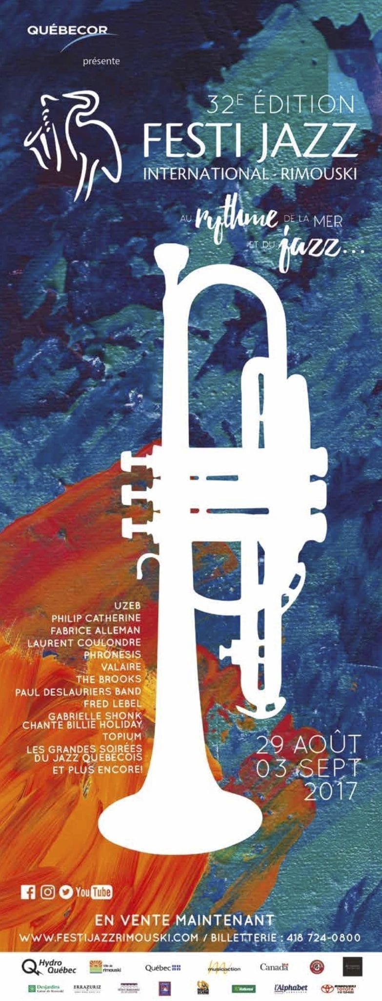Previous editions of the Festi Jazz