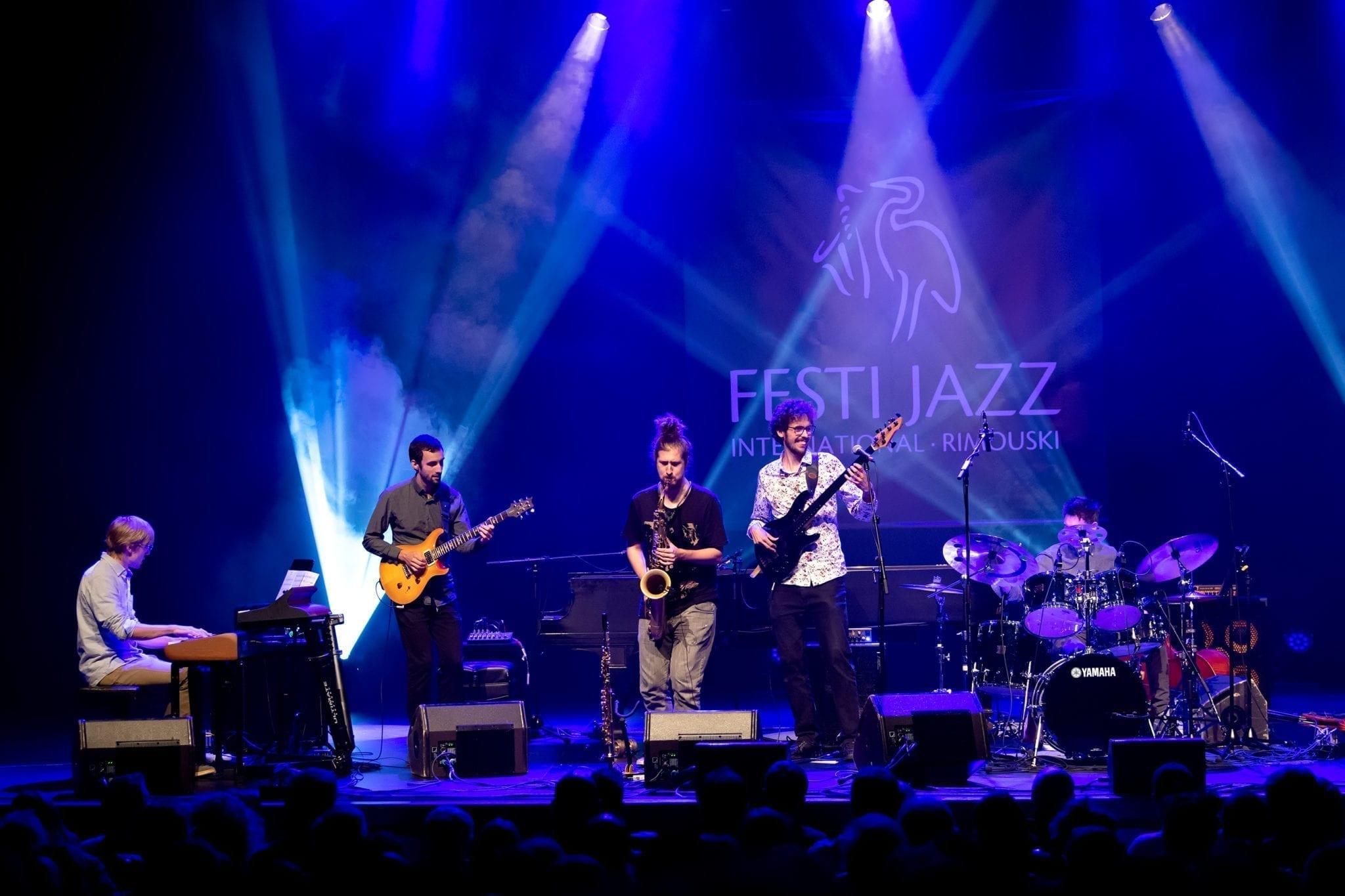Background image of the Festi Jazz Rimouski